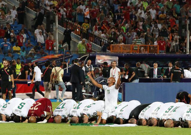 Futbolda Afrika'nın en büyüğü Cezayir