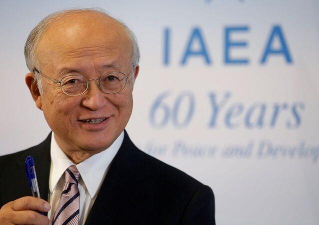 Uluslararası Atom Enerjisi Ajansı (UAEA) Başkanı Yukiya Amano