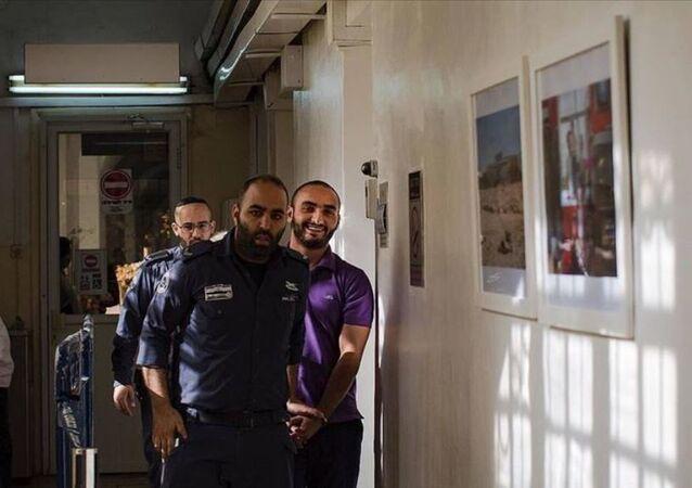 İsrail makamlarının dün akşam sınır dışı ederek Ürdün'e sürmeye çalıştığı Anadolu Ajansının (AA) Filistinli foto muhabiri Mustafa Kharouf'