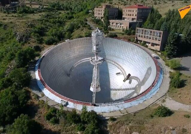 SSCB dönemi dev radyo teleskobu