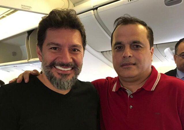 Hakan Atilla'nın uçaktan ilk fotoğrafı