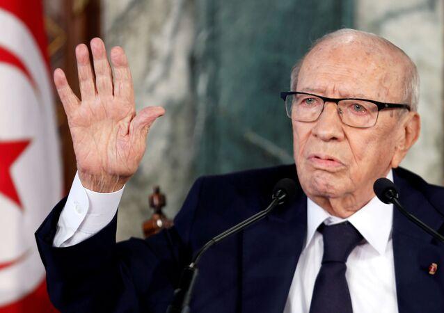 Tunus Cumhurbaşkanı Baci Kaid es Sibsi