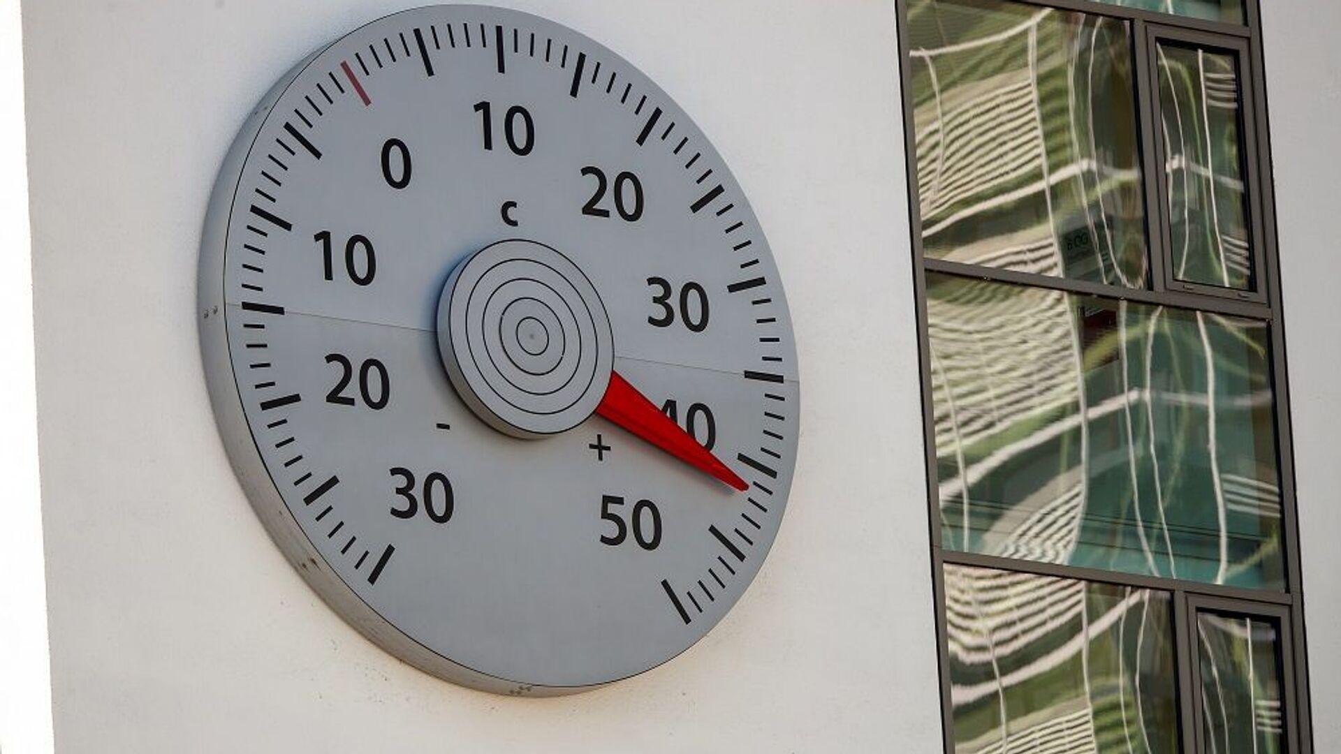 küresel ısınma, termometre, sıcaklık - Sputnik Türkiye, 1920, 27.07.2021