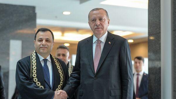Zühtü Arslan, Recep Tayyip Erdoğan - Sputnik Türkiye