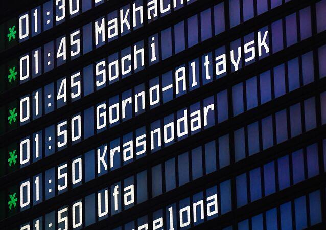 Rusya- Havalimanı