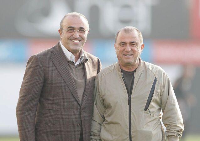 Fatih Terim ve İkinci Başkan Abdurrahim Albayrak
