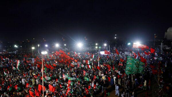 Pakistan'da Kara Gün protestoları - Sputnik Türkiye