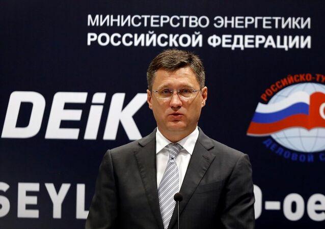Rusya Enerji Bakanı Aleksandr Novak,