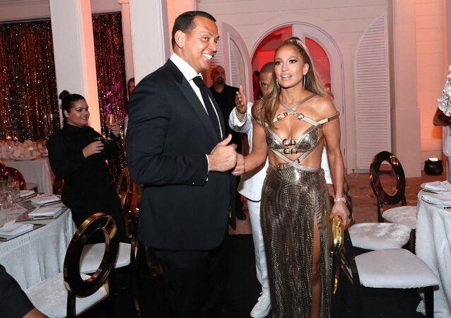 Jennifer Lopez'in doğum günü partisi