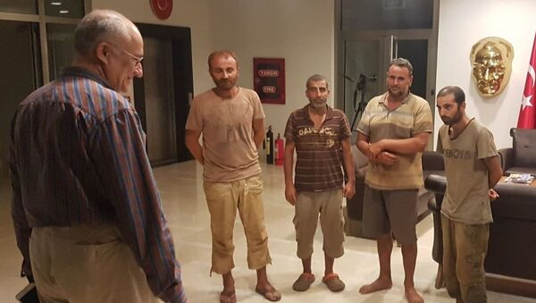 Nijerya'da kurtarılan 4 Türk vatandaşı - Sputnik Türkiye