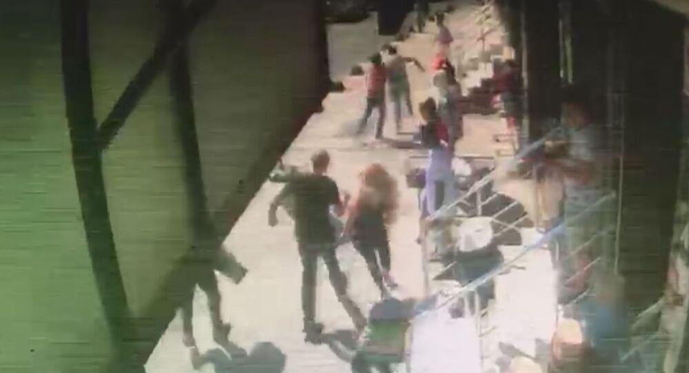 Topuklu ayakkabıyla bir kilometre kovaladı: Tacizciyi yakaladı