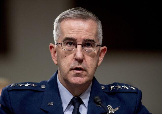 ABD Stratejik Kuvvetler (STRATCOM) Komutanı Orgeneral John Hyten