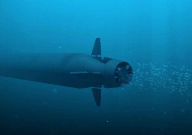 'Poseidon' insansız nükleer sualtı aracı