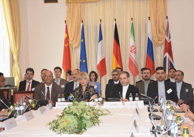 Nükleer anlaşmaya taraf ülkelerin Viyana'daki toplantısında İran'ı Dışişleri Bakan Yardımcısı Abbas Arakçi temsil etti.
