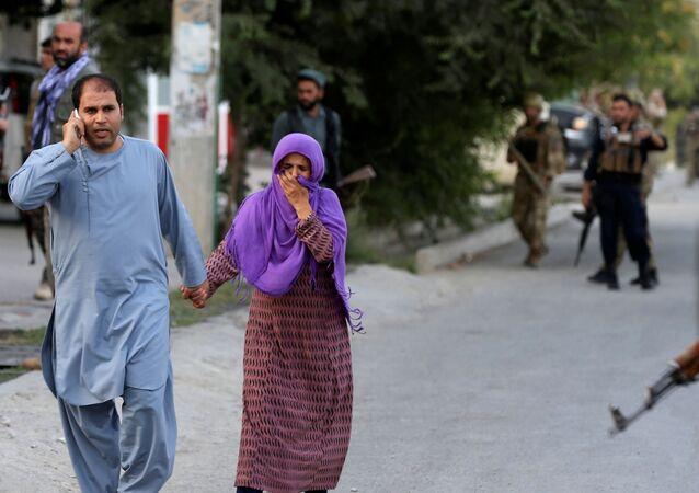 Afganistan'ın başkenti Kabil'de seçim bürosuna saldırı
