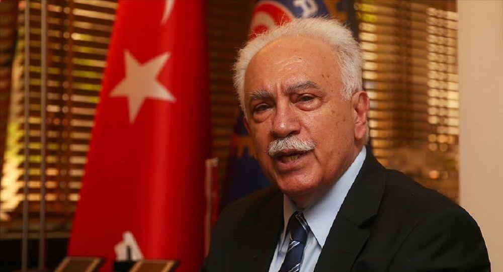 Doğu Perinçek: MHP'nin başına geçmekten şeref duyarım - Sputnik Türkiye