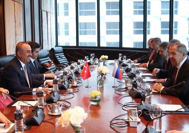 Dışişleri Bakanı Mevlüt Çavuşoğlu, Tayland'ın başkenti Bangkok'ta düzenlenen 52. Güneydoğu Asya Uluslar Birliği (ASEAN) Dışişleri Bakanları Toplantısı kapsamında Rusya Dışişleri Bakanı Sergey Lavrov ile görüştü.