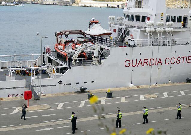 İtalyan sahil güvenlik gemisi Gregoretti