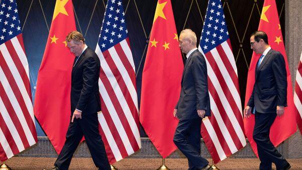 ABD - Çin ticaret görüşmeleri 'verimsiz' geçti - Sputnik Türkiye