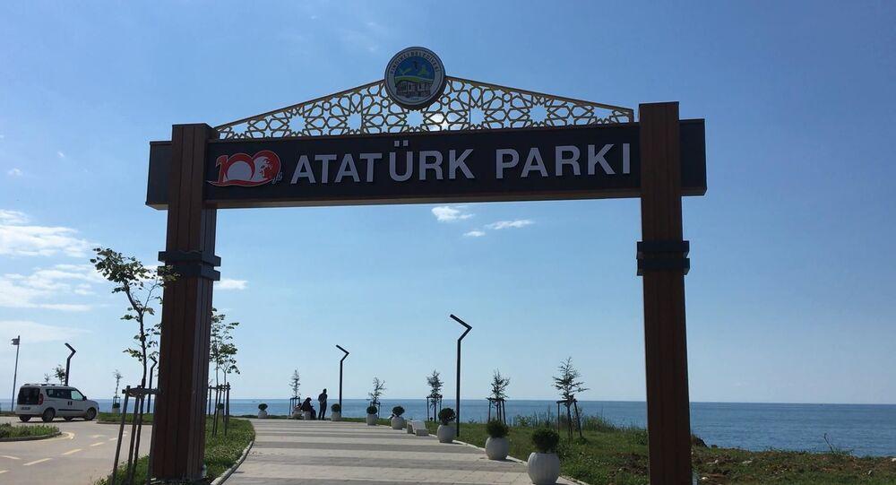 Atatürk Parkı - Rize- FındıklıAtatürk Parkı - Rize- Fındıklı