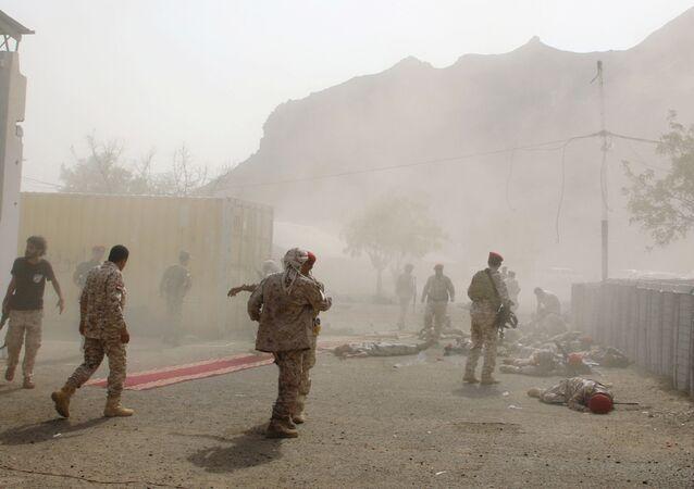 Yemen'in Aden şehrinde saldırı