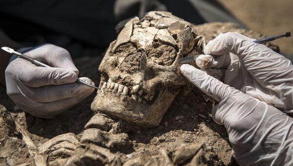 Haydarpaşa Garı'ndaki arkeolojik kazılar, tarihe ışık tutuyor - Sputnik Türkiye