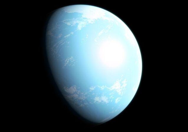 GJ 357 d gezegeninin illüstrasyonu