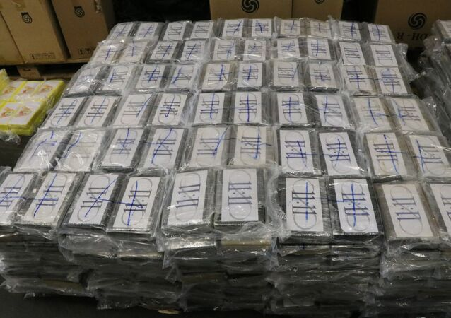 Almanya: Hamburg limanında 1 milyar euro değerinde 4.5 ton kokain ele geçirildi