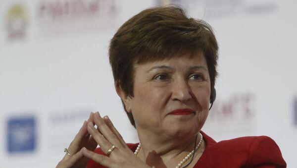 Kristalina Georgieva - Sputnik Türkiye