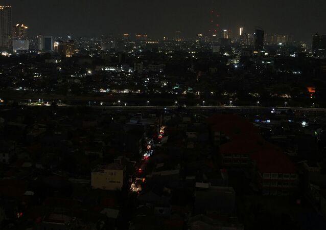 Endonezya'da büyük çaplı elektrik kesintisi