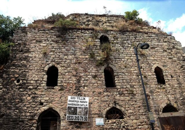 Fatih Sultan Mehmet döneminde inşa edilen ve satılığa çıkarılan Sultanahmet'teki 550 yıllık tarihi İshak Paşa Hamamı