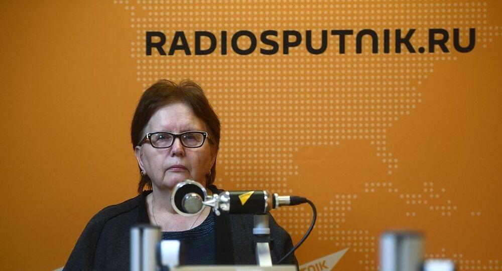Ukrayna'da görev başındayken beş sene önce yaşamını yitiren Rossiya Segodnya savaş muhabiri Andrey Stenin'in annesi Vera Stenina