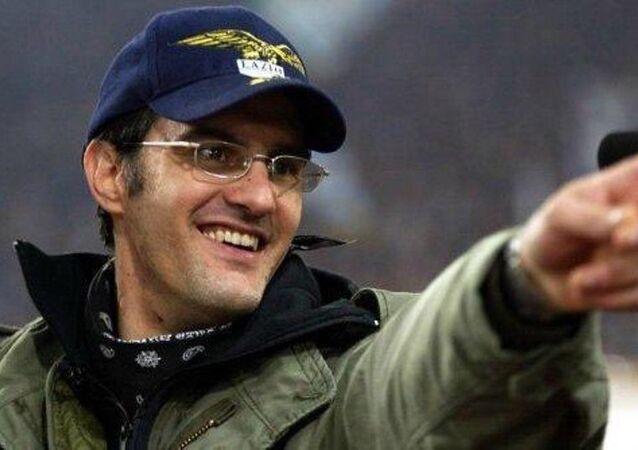 Lazio tribün liderlerinden Fabrizio Piscitelli