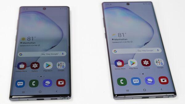 Samsung Galaxy Note 10 ve Note 10 Plus - Sputnik Türkiye