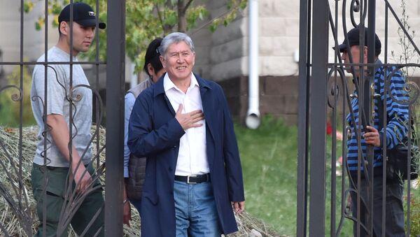 Eski Kırgız lider Almazbek Atambayev - Sputnik Türkiye