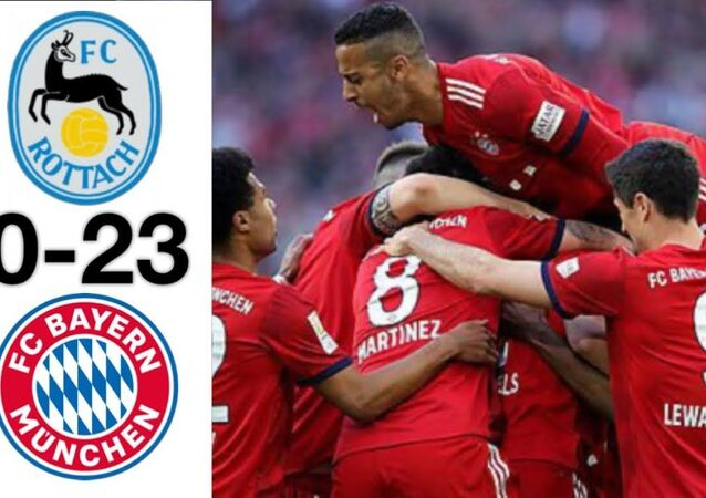 Almanya Bundesliga devi Bayern Münih, Rottach-Egern ile oynadığı antrenman maçını 23-0 kazandı.