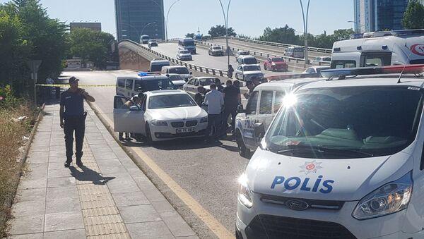 Ankara iş adamına araçta infaz - Sputnik Türkiye