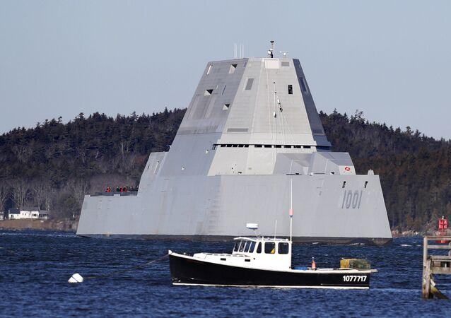 ABD Donanması'nın yeni Zumwalt tipi destroyeri