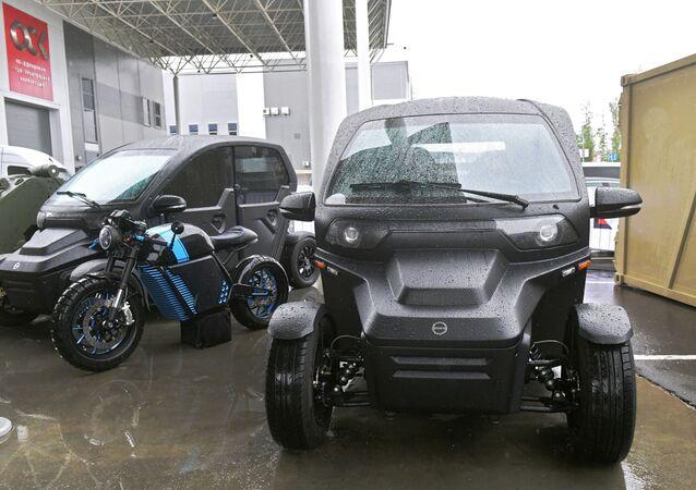Kalaşnikov'dan OVUM elektrikli otomobili