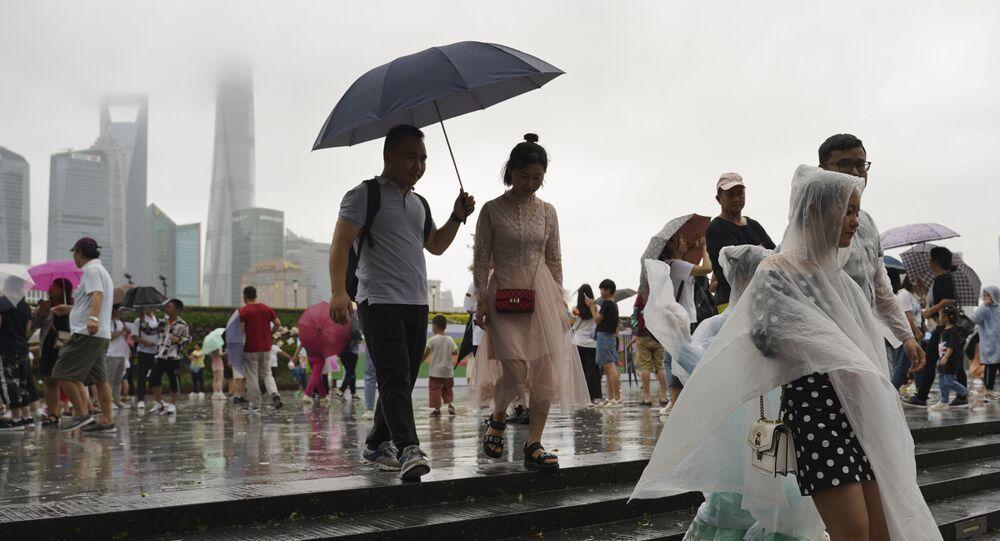 Çin'de Lekima Tayfunu