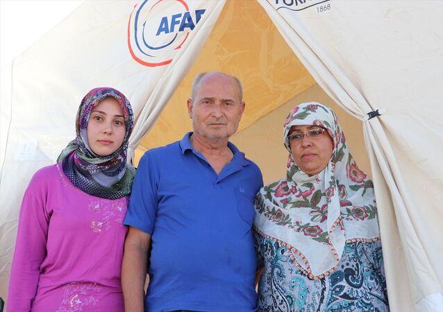 Depremzedeler bayramı çadırlarında karşılayacak