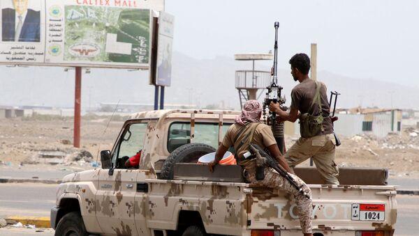 Yemen'de Birleşik Arap Emirliği (BAE) destekli Güney Geçiş Konseyi - Sputnik Türkiye