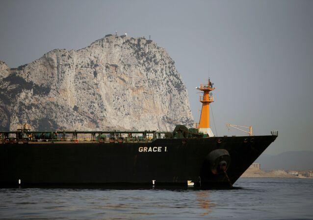Cebelitarık'ta 40 gün sonra serbest bırakılan İran'a ait Grace 1 isimli tanker