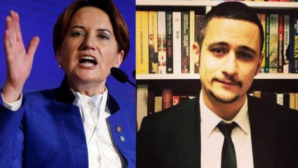 Meral Akşener'in TBMM konuşmalarını yazan Bahadırhan Dinçaslan istifa etti - Sputnik Türkiye