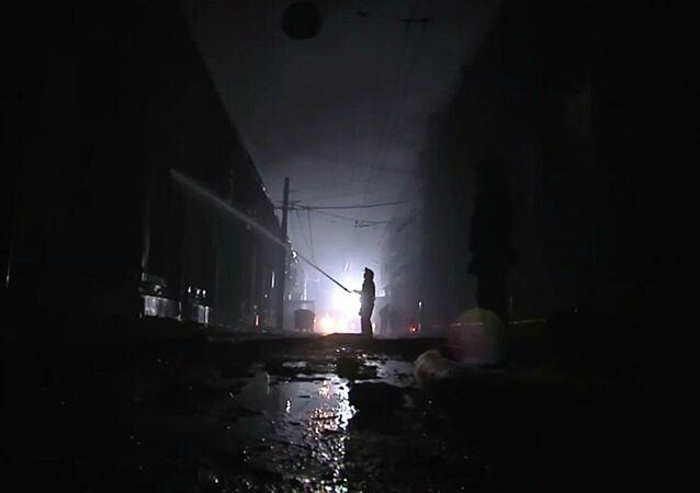 Ukrayna'da otelde yangın: 9 ölü