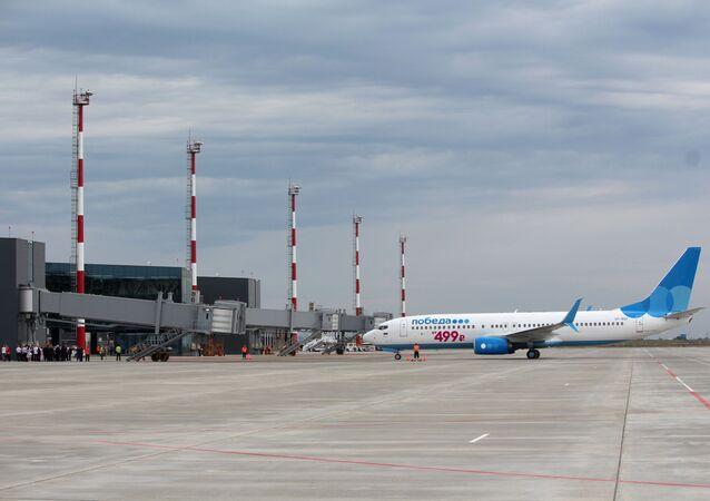 Türk inşaat şirketi Esta Construction'ın inşa ettiği Saratov'daki yeni Gagarin Havalimanı