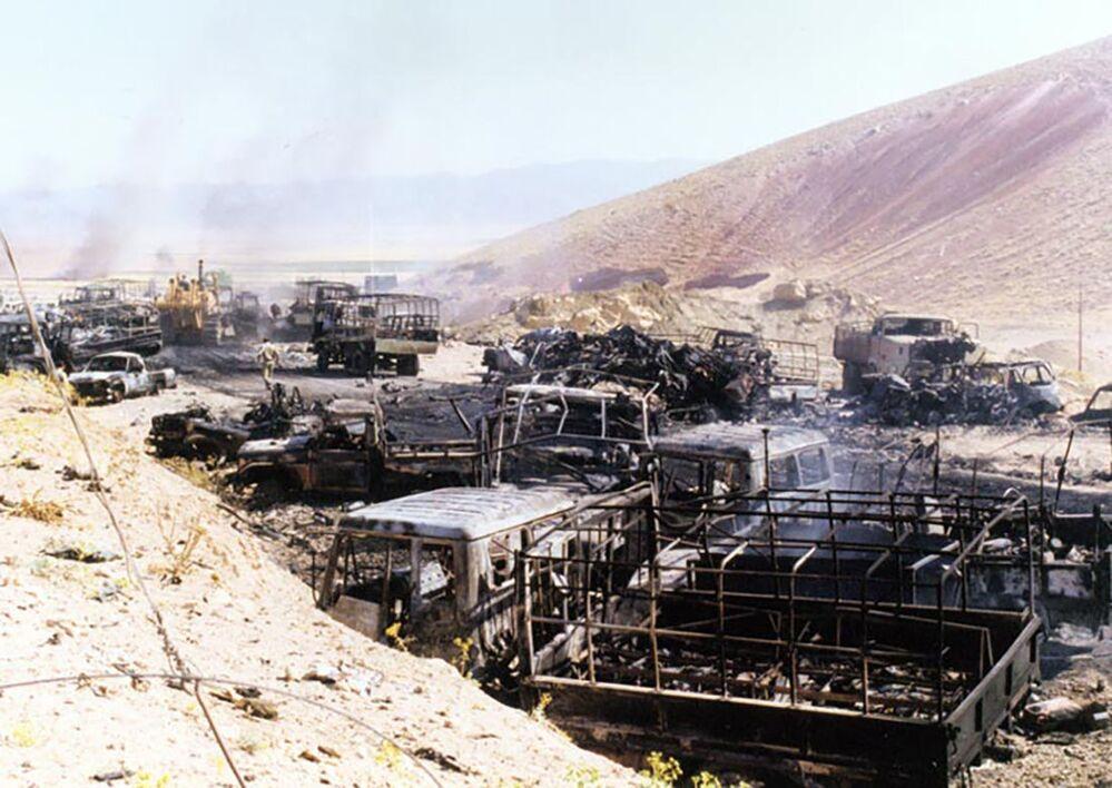 Irak-İran savaşında imha edilen askeri araçlar