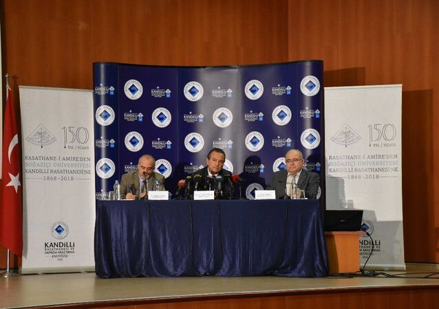 Boğaziçi Üniversitesi Kandilli Rasathanesi Deprem Araştırma Enstitüsü Müdürü ve Jeodezi Anabilim Dalı Başkanı Prof. Dr. Haluk Özener