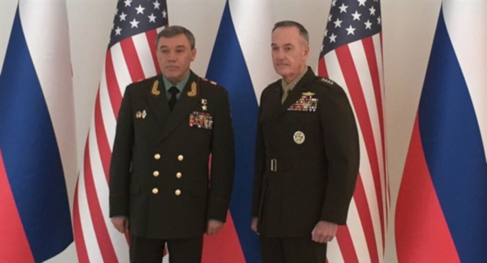 Rusya Genelkurmay Başkanı Gerasimov, ABD'li mevkidaşı Dunford