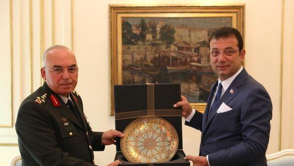 Ekrem İmamoğlu, Orgeneral Musa Avsever - Sputnik Türkiye